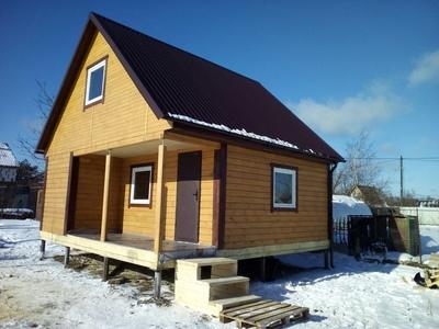 Деревянные Каркасные дома и Бани под ключ в Сморгони - main